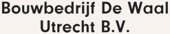 Bouwbedrijf de Waal Utrecht